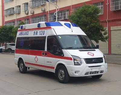 程力威牌CLW5043XJHJ6型救护车