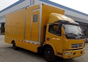 程力威牌CLW5090XJC5型检测车